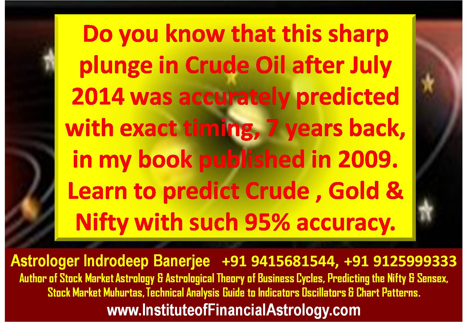 Institute of financial astrology learn to predict nifty gold indrodeep banerjee geenschuldenfo Gallery